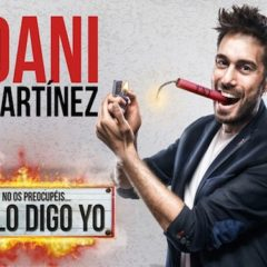 Dani Martínez llega al Teatro Circo de Murcia