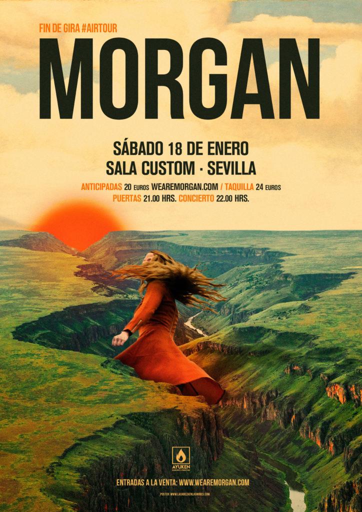 Concierto de Morgan en Sala Custom de Sevilla - Entradas con descuento aquí!