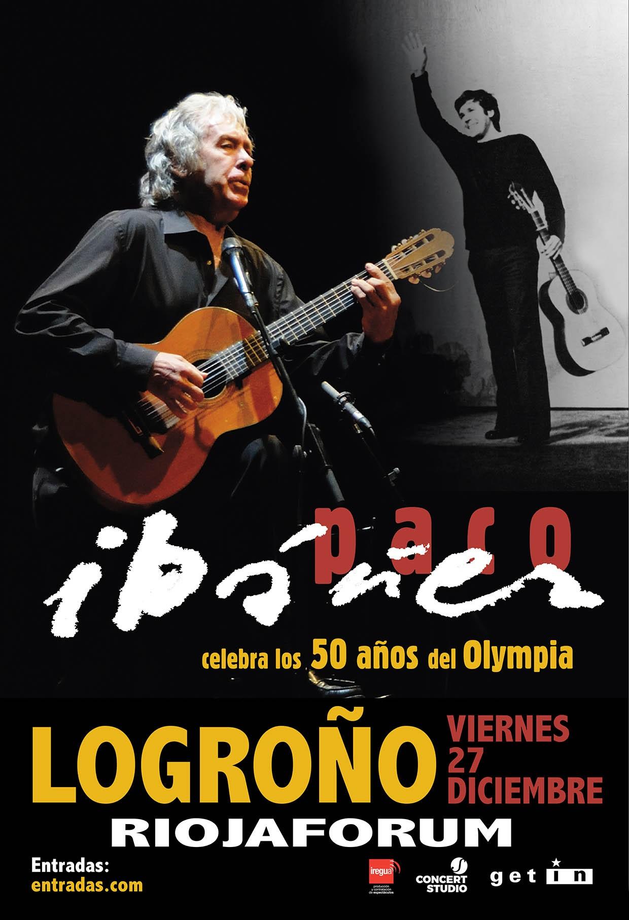 Paco Ibáñez en concierto