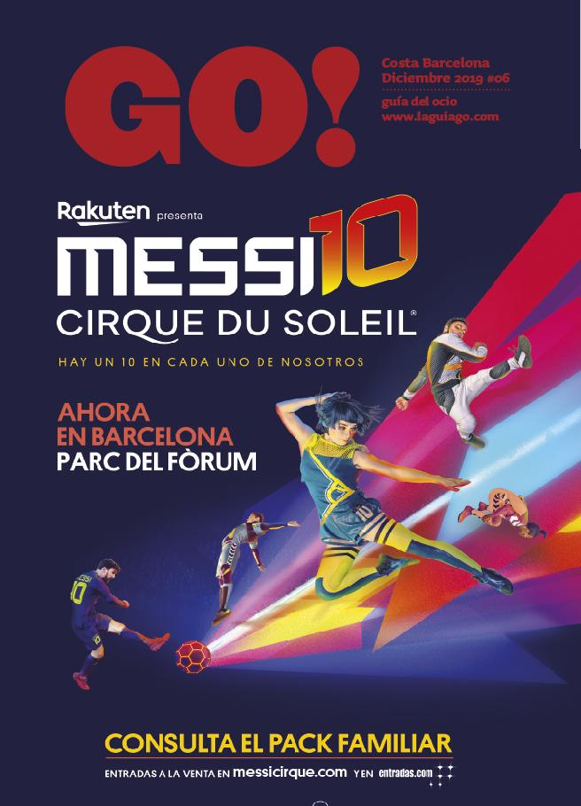Aquí tienes la revista GO! Barcelona de Diciembre 2019