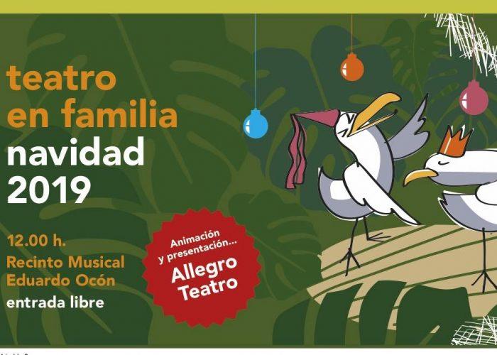 Teatro en Familia esta Navidad en el Recinto Eduardo Ocón del Parque en Málaga – Programación Completa