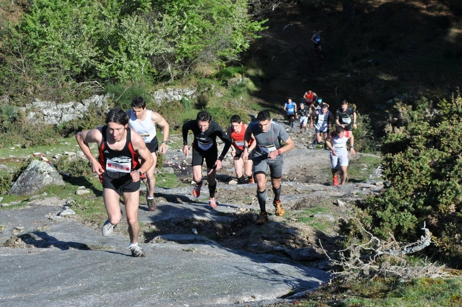 Trail de Cela, competición deportiva popular en Bueu