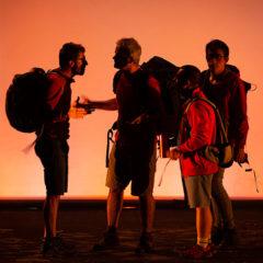 Acampada en Teatre Principal en Castellón