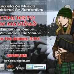 Concierto de Navidad de la Escuela de Música Tradicional de Santander