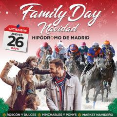 Family Day Navidad en el Hipódromo de La Zarzuela en Madrid