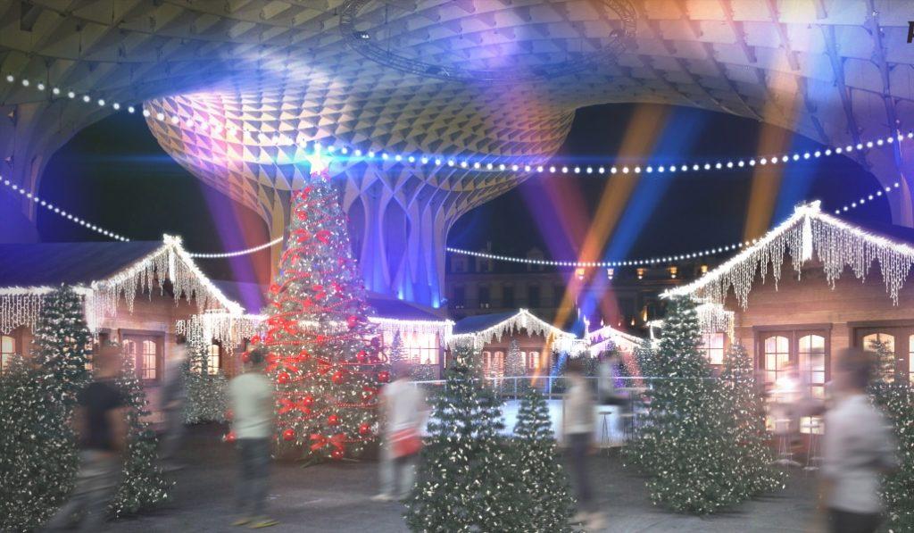 Laponia -hogar de Papá Noel- en Sevilla en Navidad 2019
