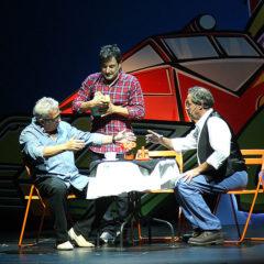 Leo Harlem, Sinacio y Sergio Olalla. Hasta aquí hemos llegao en Teatro EDP Gran Vía en Madrid