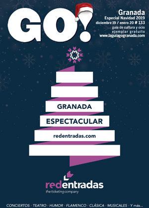 Aquí puedes leer online la Guía del Ocio GO GRANADA Diciembre 2019 Enero 2020