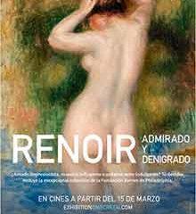 Estreno de Renoir: Admirado y denigrado el 3 de noviembre