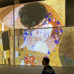 Exposición inmersiva El Oro de Klimt en Málaga