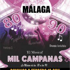 Musical Mil Campanas en La Cochera Cabaret de Málaga