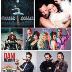 Los espectáculos destacados en Murcia de enero