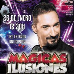 Mágicas Ilusiones By Pedro III en el Teatro Cervantes