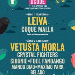 Concierto de Dcode Festival 2020 en Campus Universitario de la UCM en Madrid