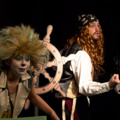 El pirata Malapata en busca del tesoro en ArtEspacio Plot Point en Madrid