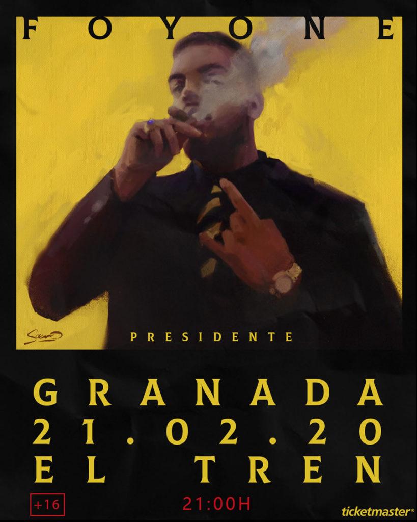 Foyone presenta Presidente en Sala El Tren de Granada