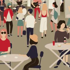 Cultura, música y gastronomía en la primera edición de 'La Estación'