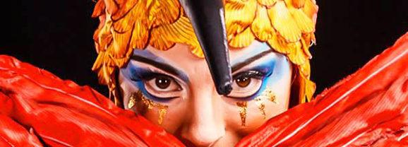 Luzia. Circo del Sol en ExpoMeloneras en Canarias
