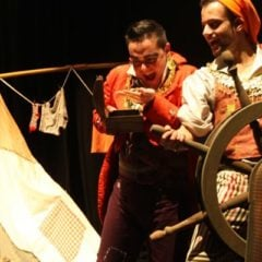 Espectáculo infantil Piripiratas en Centro Cultural Casa del Cordón en Burgos