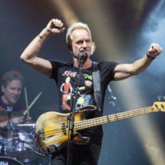 Sting, concierto en el auditorio de Castrelos de Vigo
