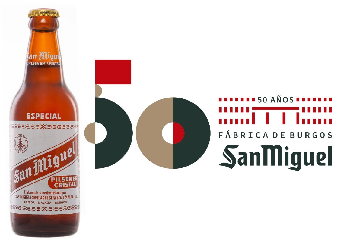 Cervezas San Miguel celebra sus 50 años en Burgos