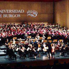 Orquesta Sinfónica de Burgos en el Fórum de la Evolución