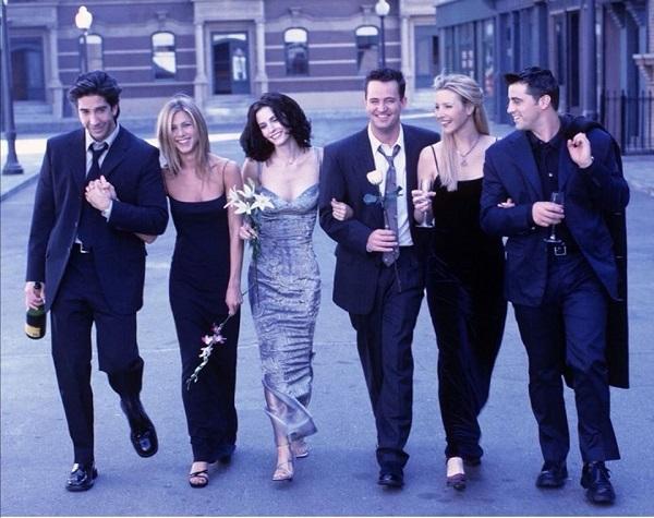 Los actores de 'Friends', cerca de HBO