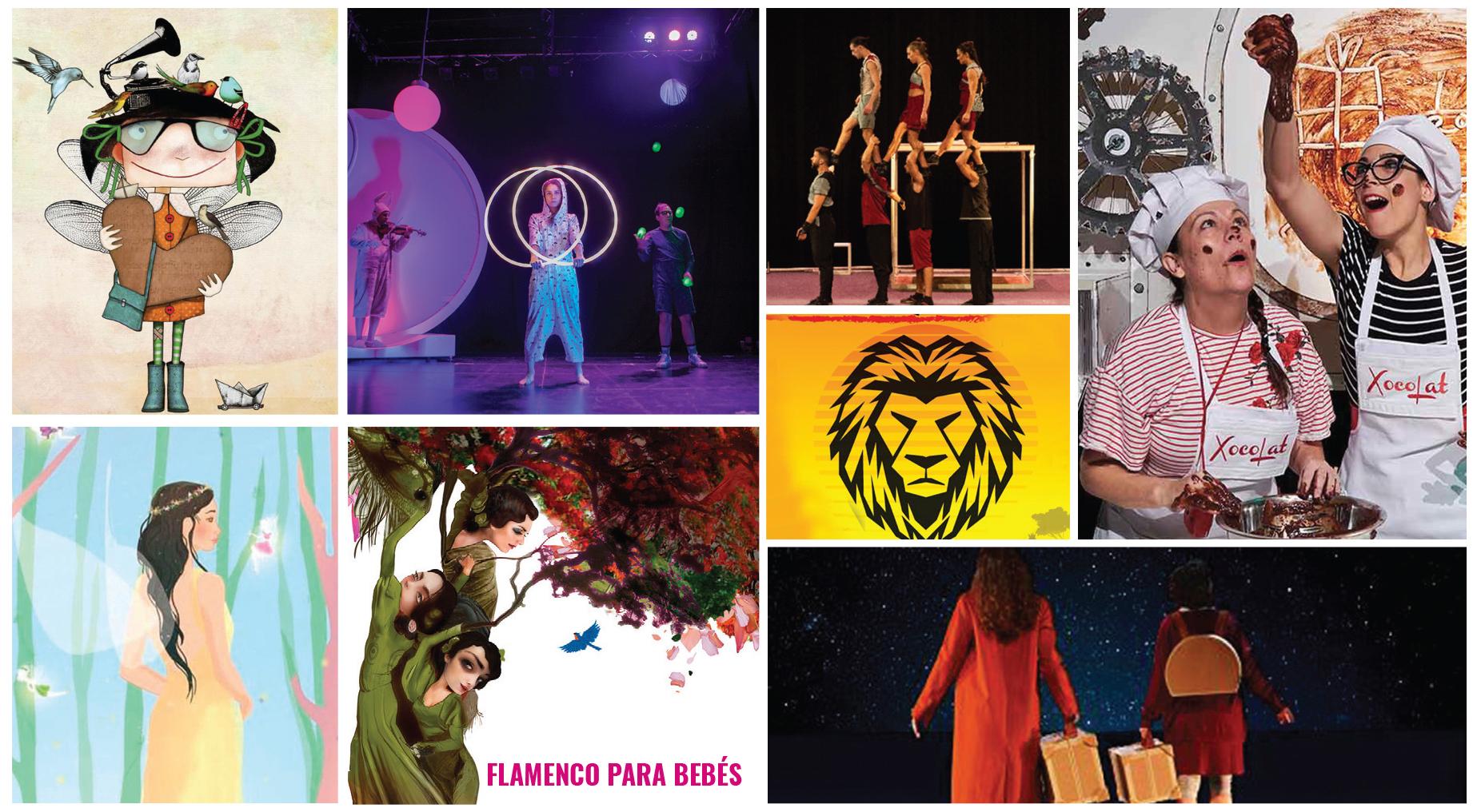 Agenda de espectáculos infantiles en Murcia