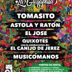 Aniversario La Garrapata 2020 en París 15 de Málaga