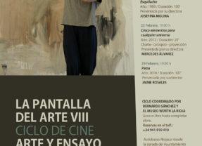 La Pantalla del Arte. Ciclo de cine, arte y ensayo.
