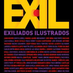 Exposición Exiliados  Ilustrados en la Sala de la Casa Revilla