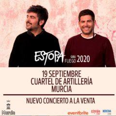 Estopa confirma nueva fecha de su «Gira Fuego» en Murcia