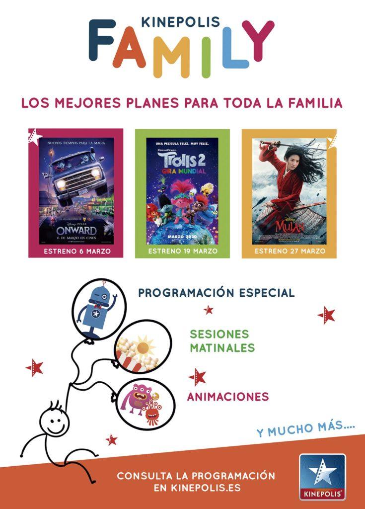 Kinépolis Granada propone planes en familia con los nuevos estrenos de cine infantil
