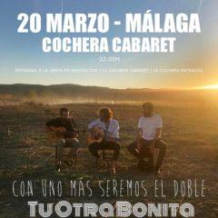 Tu otra bonita en concierto en La Cochera Cabaret de Málaga – GPS. EVENTO APLAZADO