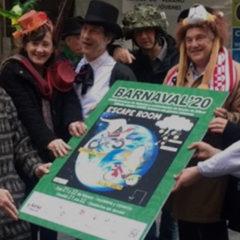 La fiesta de los sombreros locos inicia el Barnaval