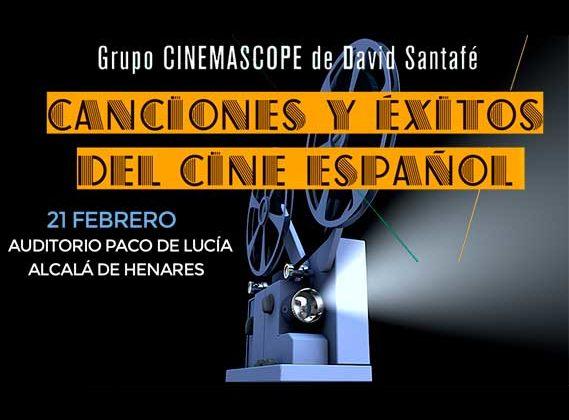Concierto de Canciones y éxitos del cine español en Auditorio Municipal Paco de Lucía de Alcalá de Henares en Madrid