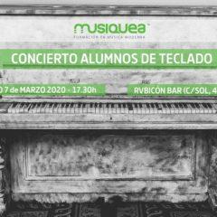 Concierto de los alumnos de Musiquea en el Rubicón
