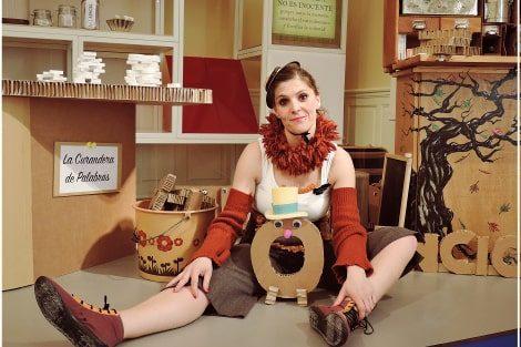 'La curandera de palabras' en la Casa de Cultura de Gamonal