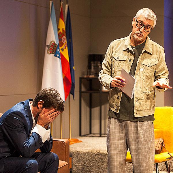 El electo en Teatro Principal en Zaragoza