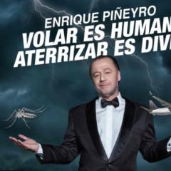 Volar es humano, aterrizar es divino, espectáculo en Vigo