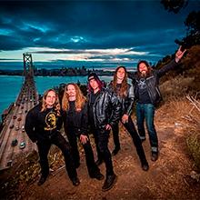 Concierto de Testament + Exodus + Death Angel en Palacio Vistalegre Arena en Madrid