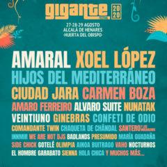 Concierto de Festival Gigante 2020 en Huerta del Obispo del Palacio Arzobispal en Madrid
