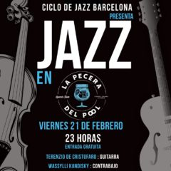 Ciclo de Jazz Barcelona presenta NOCHE DE JAZZ