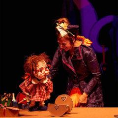 Leocadia y los ratones en Casa de la Cultura José Saramago en Albacete