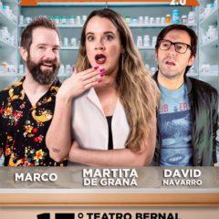 La farmacia 2.0 con Martita de Graná en el Teatro Bernal