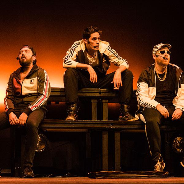 Todos quieren ser The Monguers en Teatro Alfil en Madrid