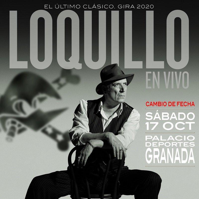 Concierto de Loquillo en Palacio de Deportes de Granada