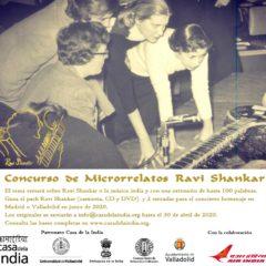 La Fundación Casa de la India convoca el `Concurso de microrrelatos Ravi Shankar´