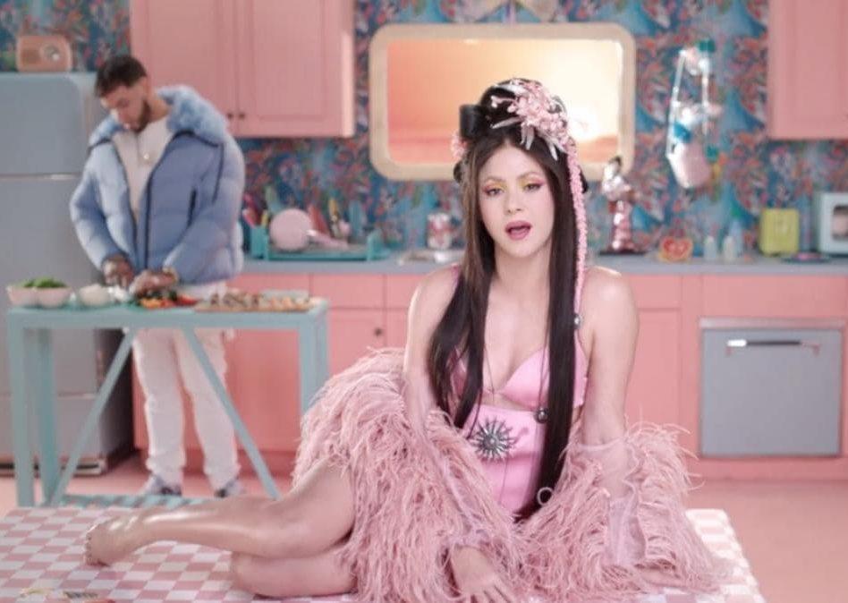 Shakira y Anuel AA presentan el videoclip de 'Me gusta'
