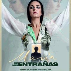 María de mis entrañas -un homenaje flamenco a María Zambrano- en Vélez-Málaga
